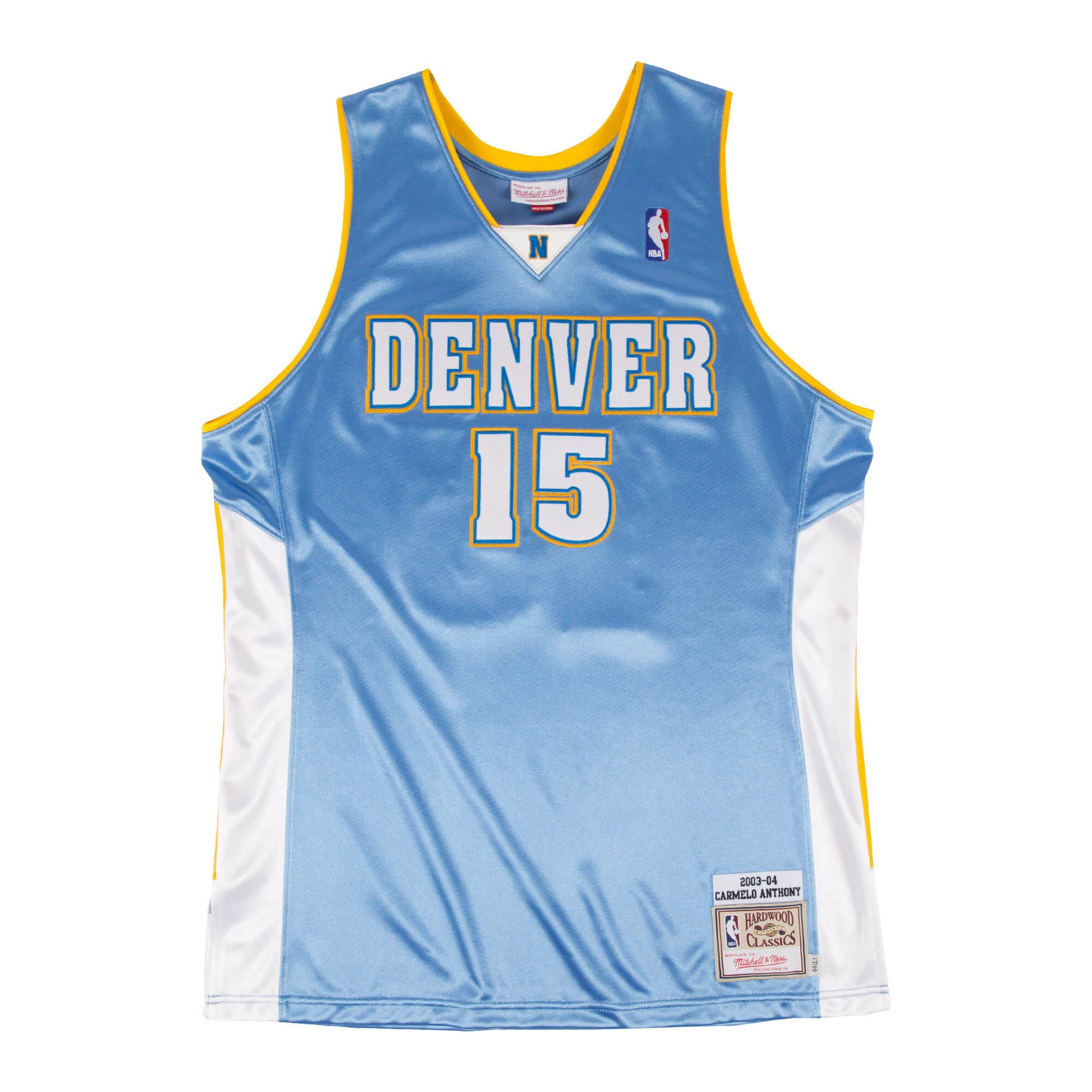 Carmelo Anthony 2003-04 Authentic Jersey Denver Nuggets
