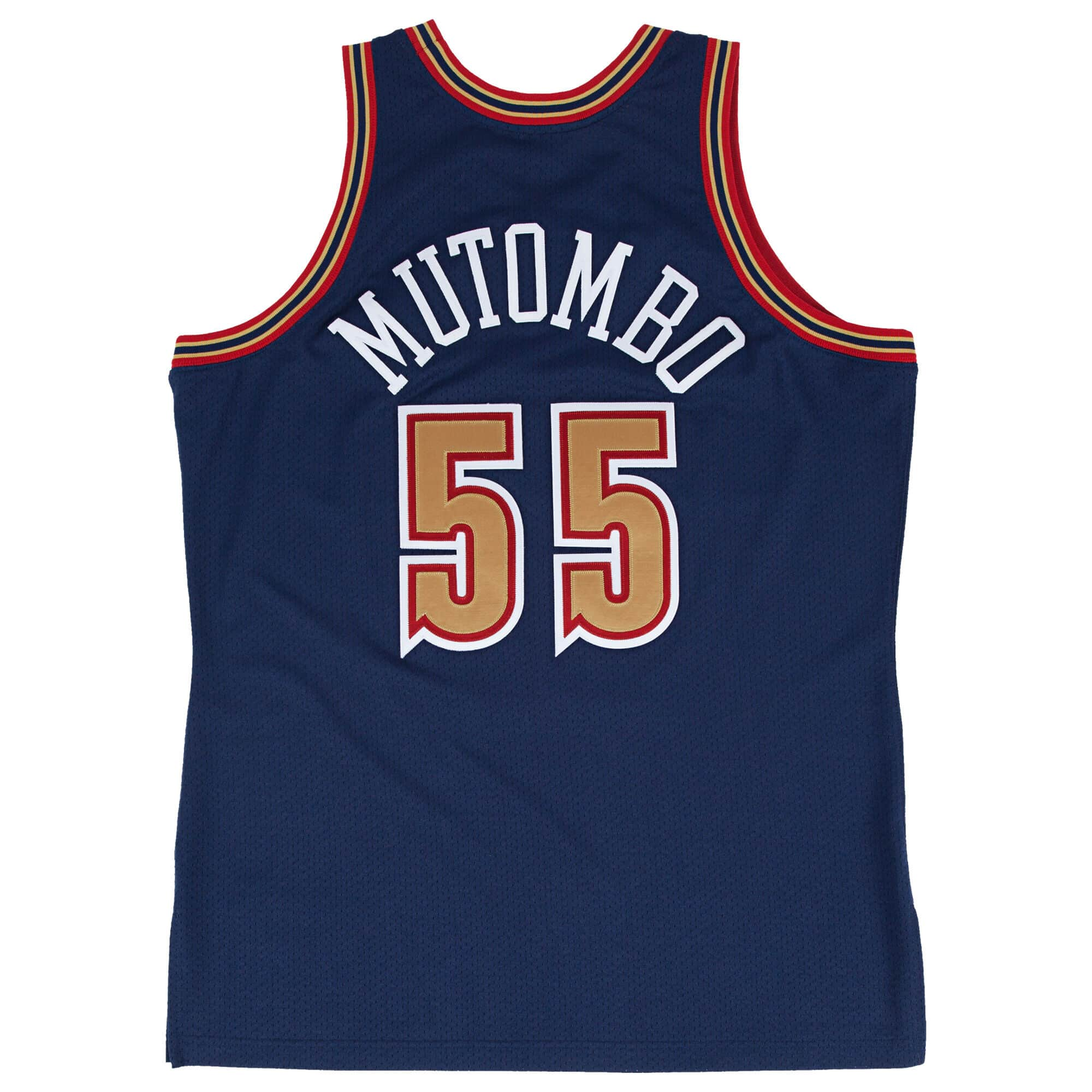 Dikembe Mutombo 1993-94 Authentic Jersey Denver Nuggets