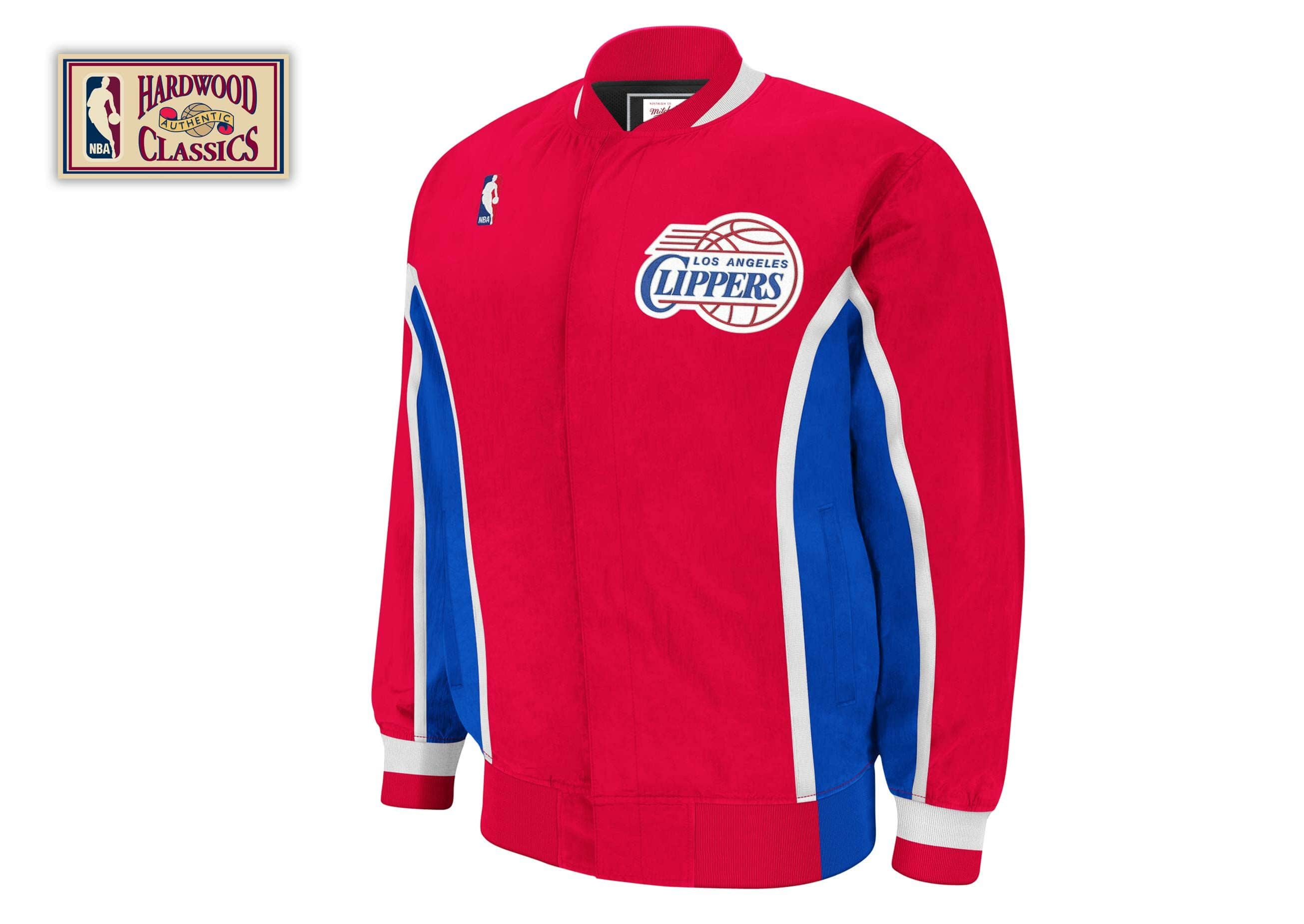 1995-96 Authentic Warm Up Jckt Los Angeles Clippers