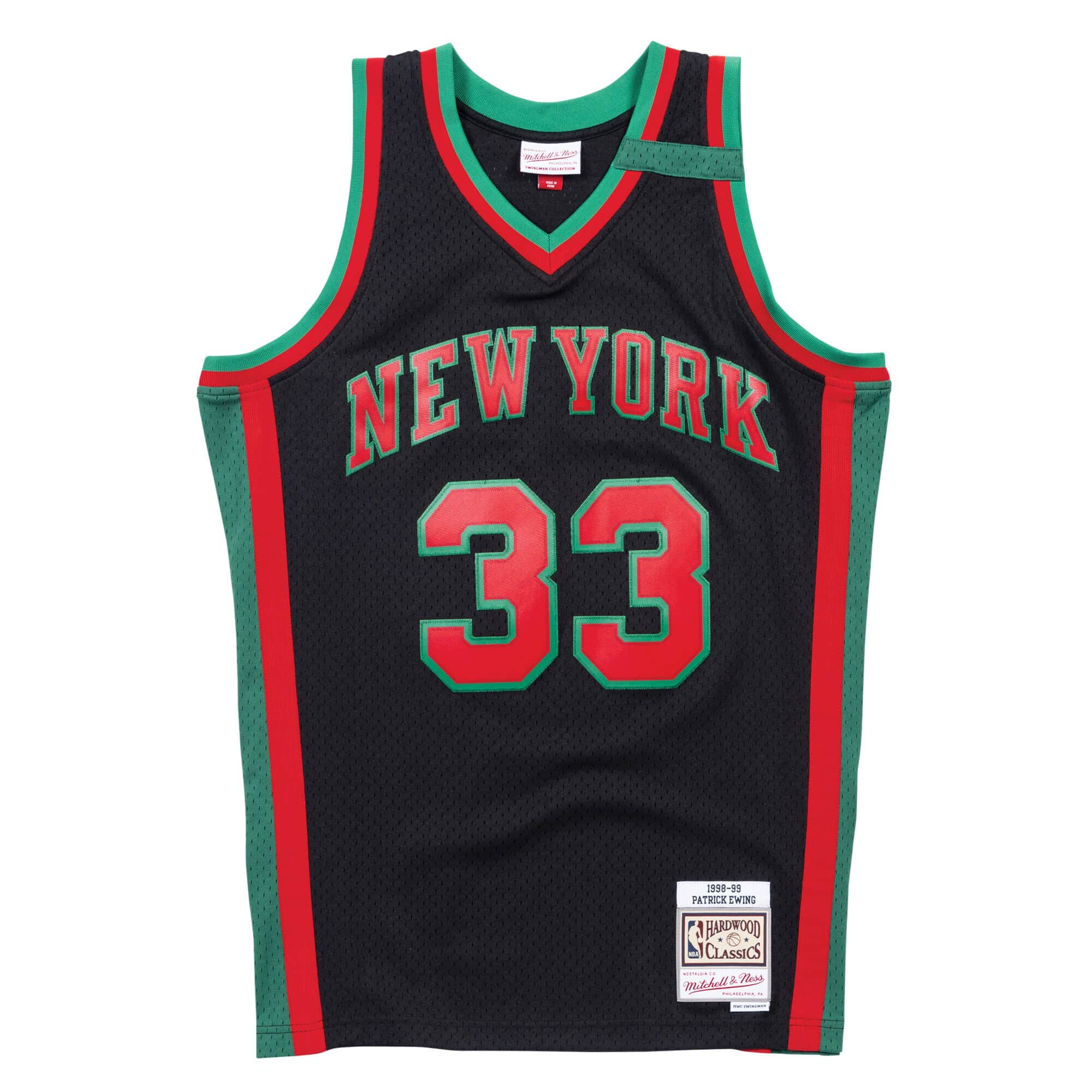 Christmas Swingman Jersey New York Knicks 1998-99 Patrick Ewing
