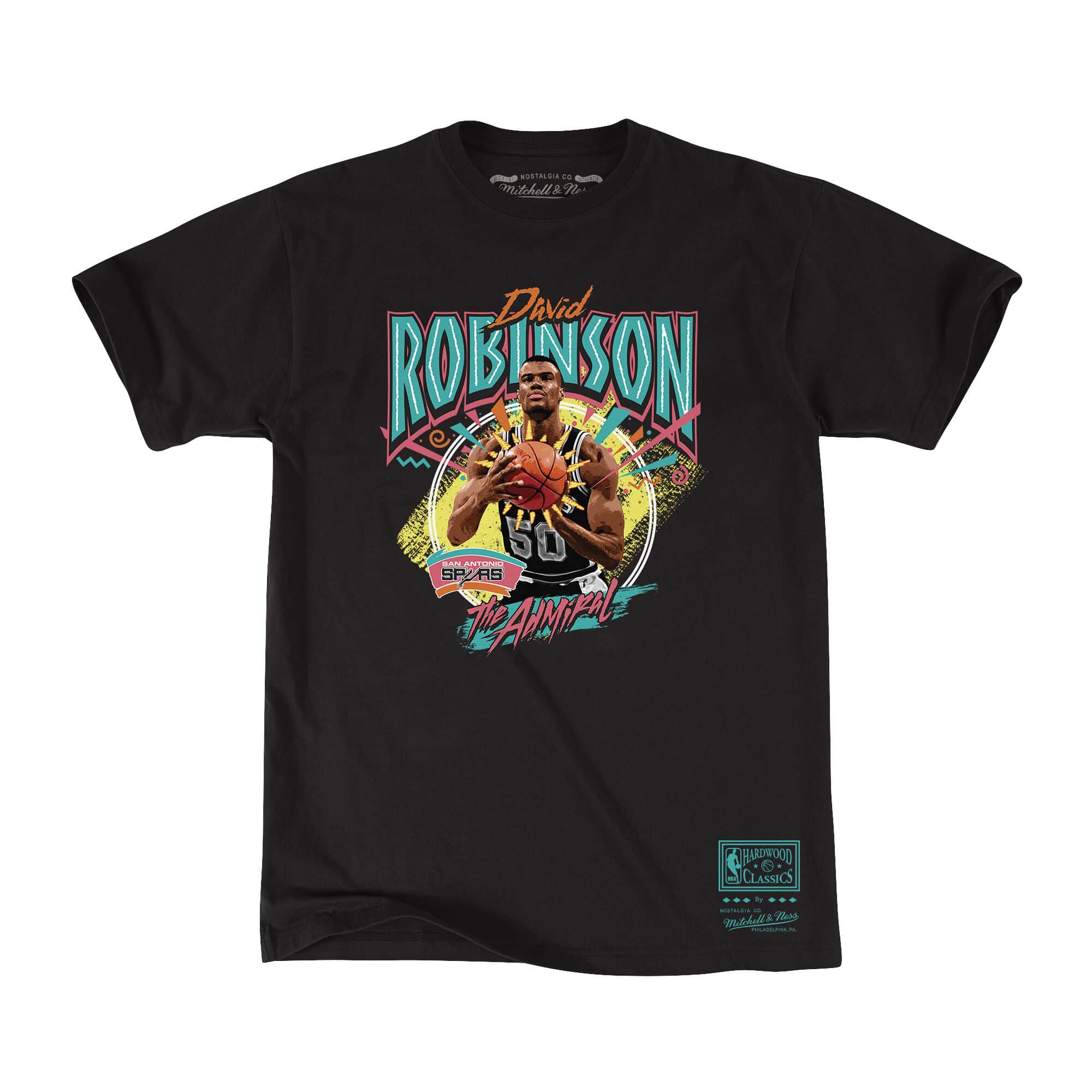David Robinson Tee San Antonio Spurs