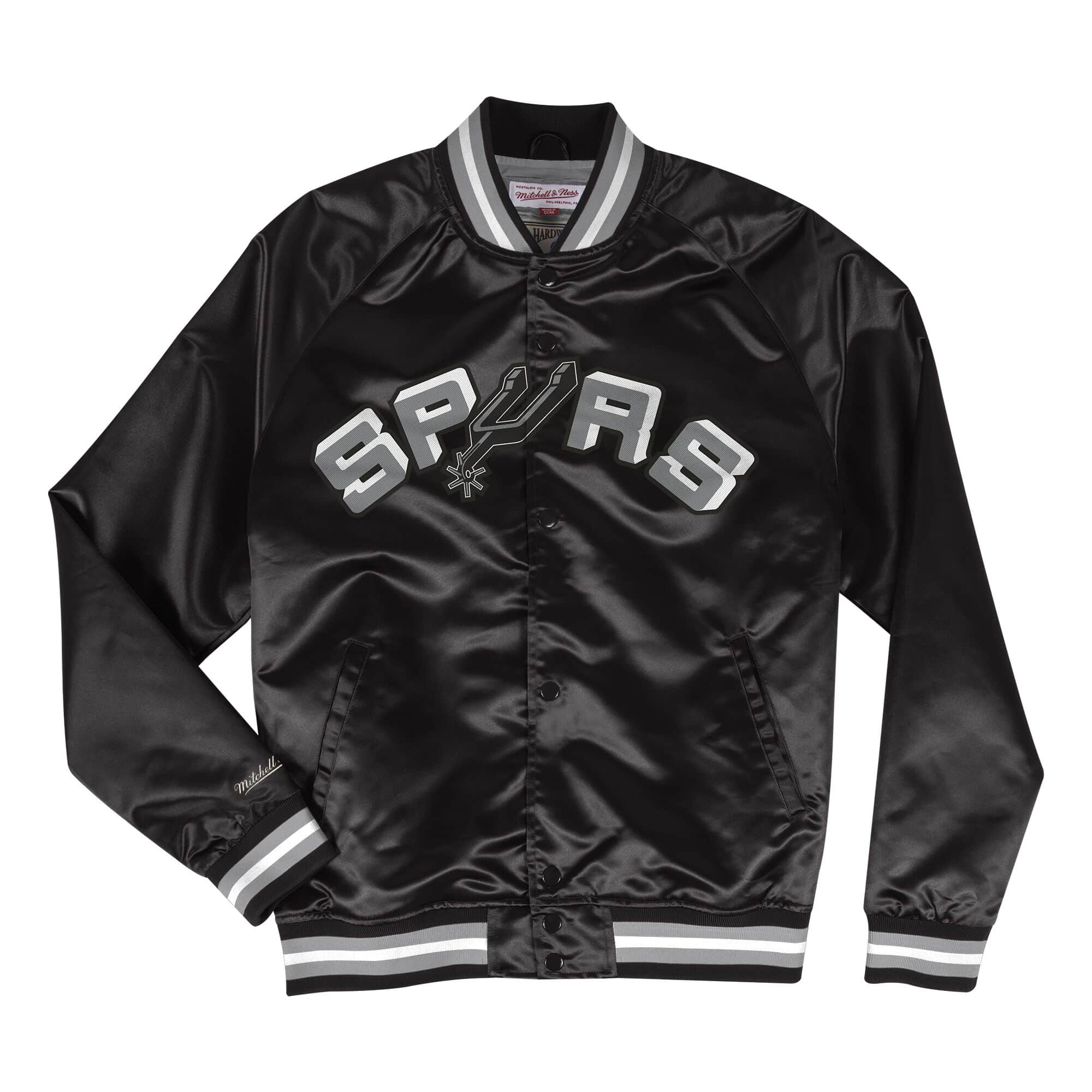 Lightweight Satin Jacket San Antonio Spurs