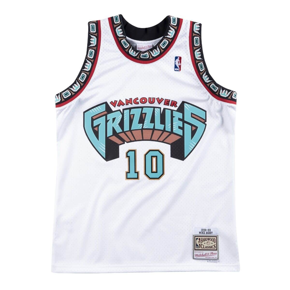 Swingman Jersey Vancouver Grizzlies Home 1998-99 Mike Bibby