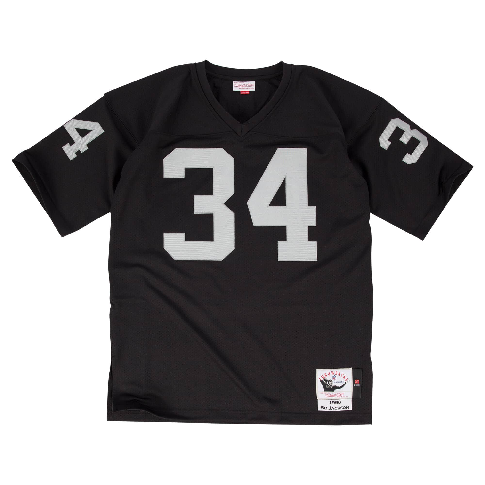 Bo Jackson 1990 Authentic Jersey Los Angeles Raiders