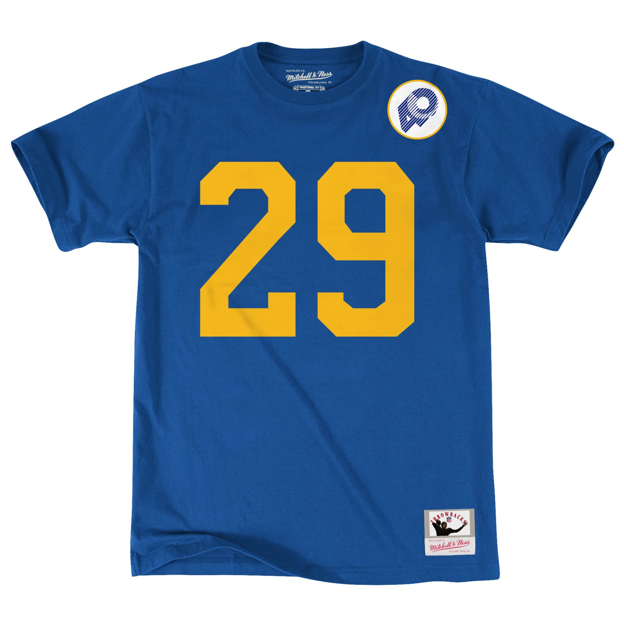 Eric Dickerson Name & Number Tee Los Angeles Rams