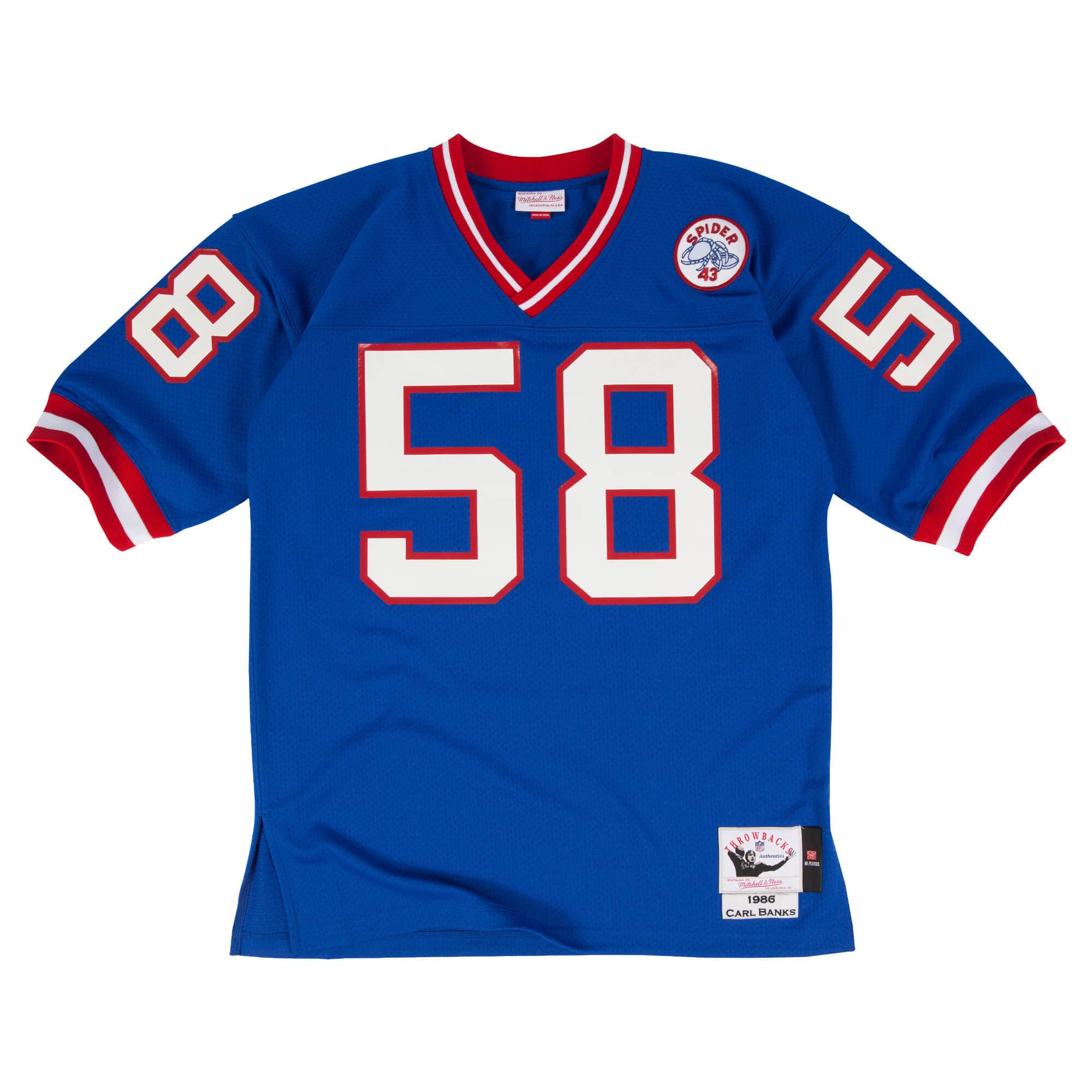 Carl Banks 1986 Authentic Jersey New York Giants