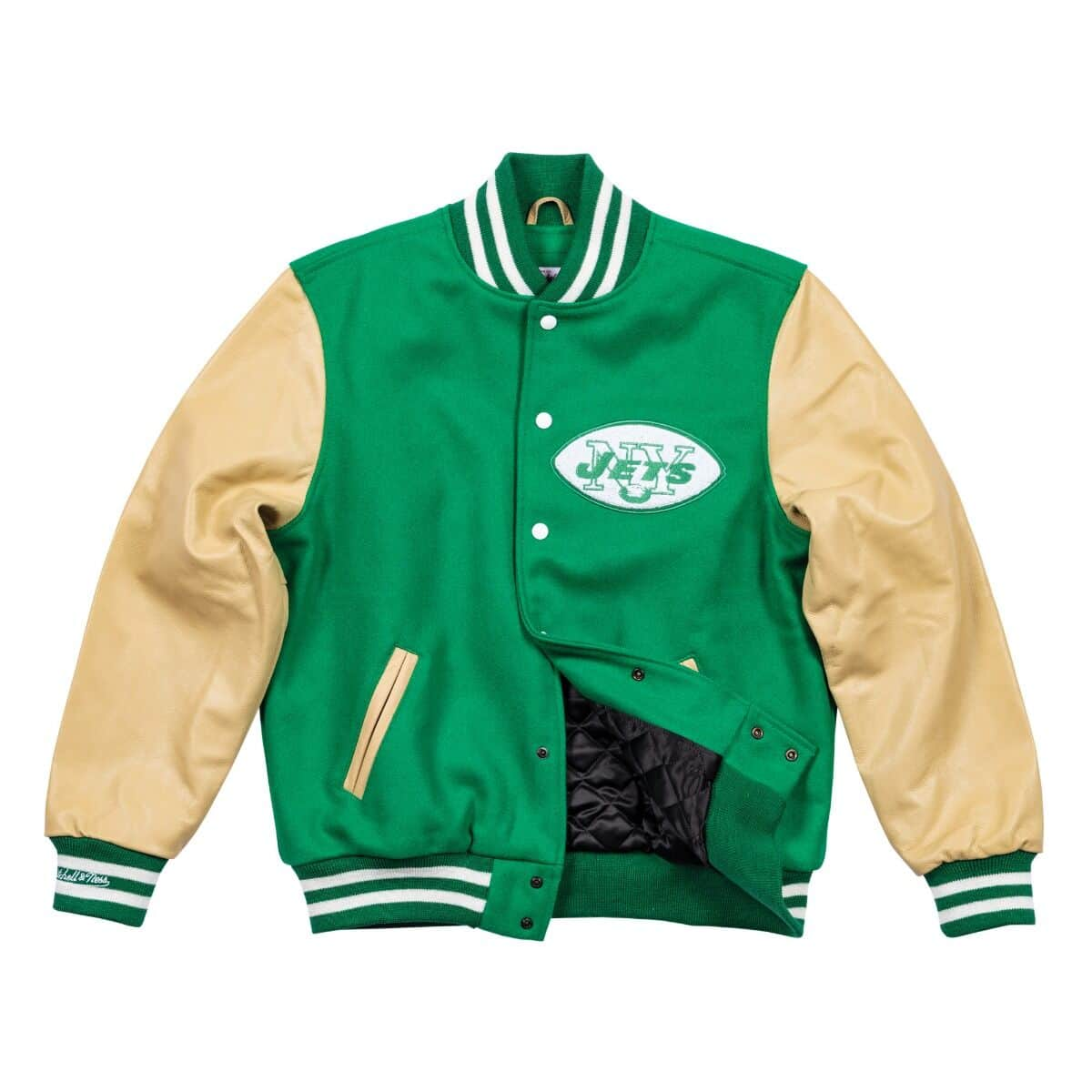 Wool Varsity Jacket New York Jets