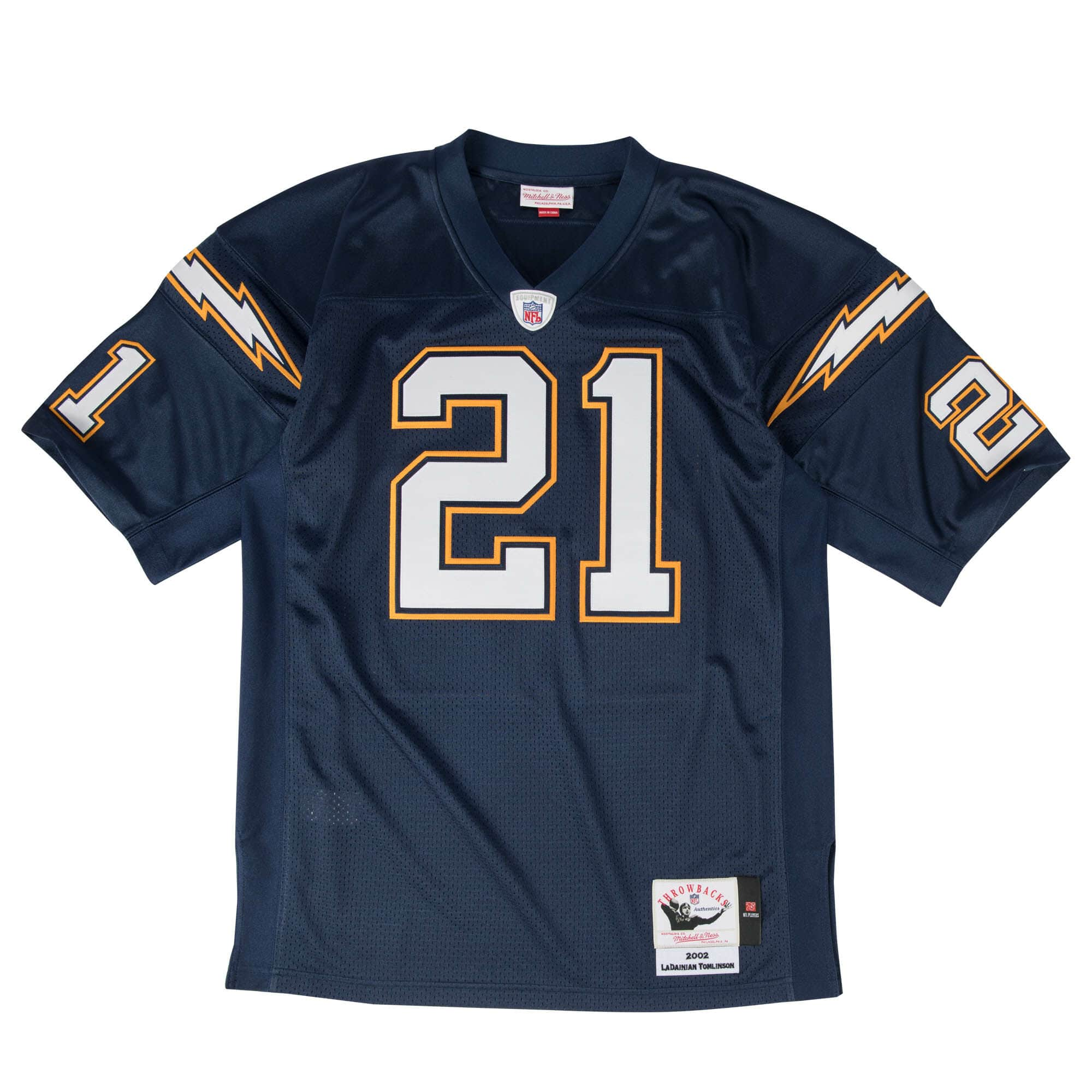 LaDainian Tomlinson Authentic Jersey 2002 San Diego Chargers