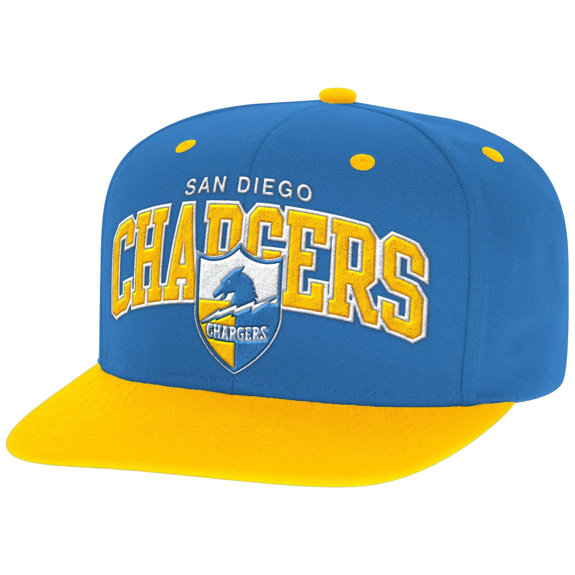 Arch with Logo Snapback San Diego Chargers
