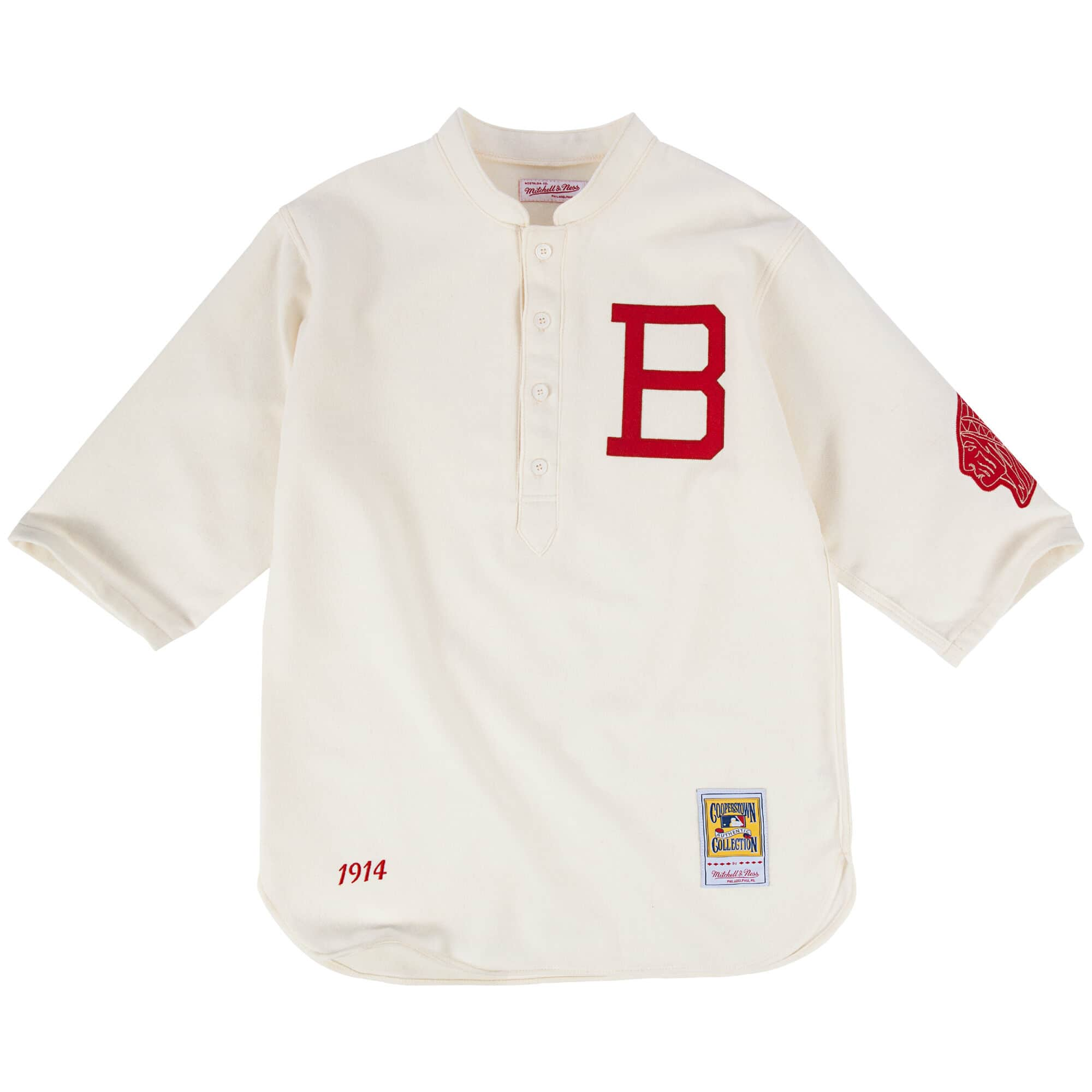 1914 Authentic Jersey Boston Braves