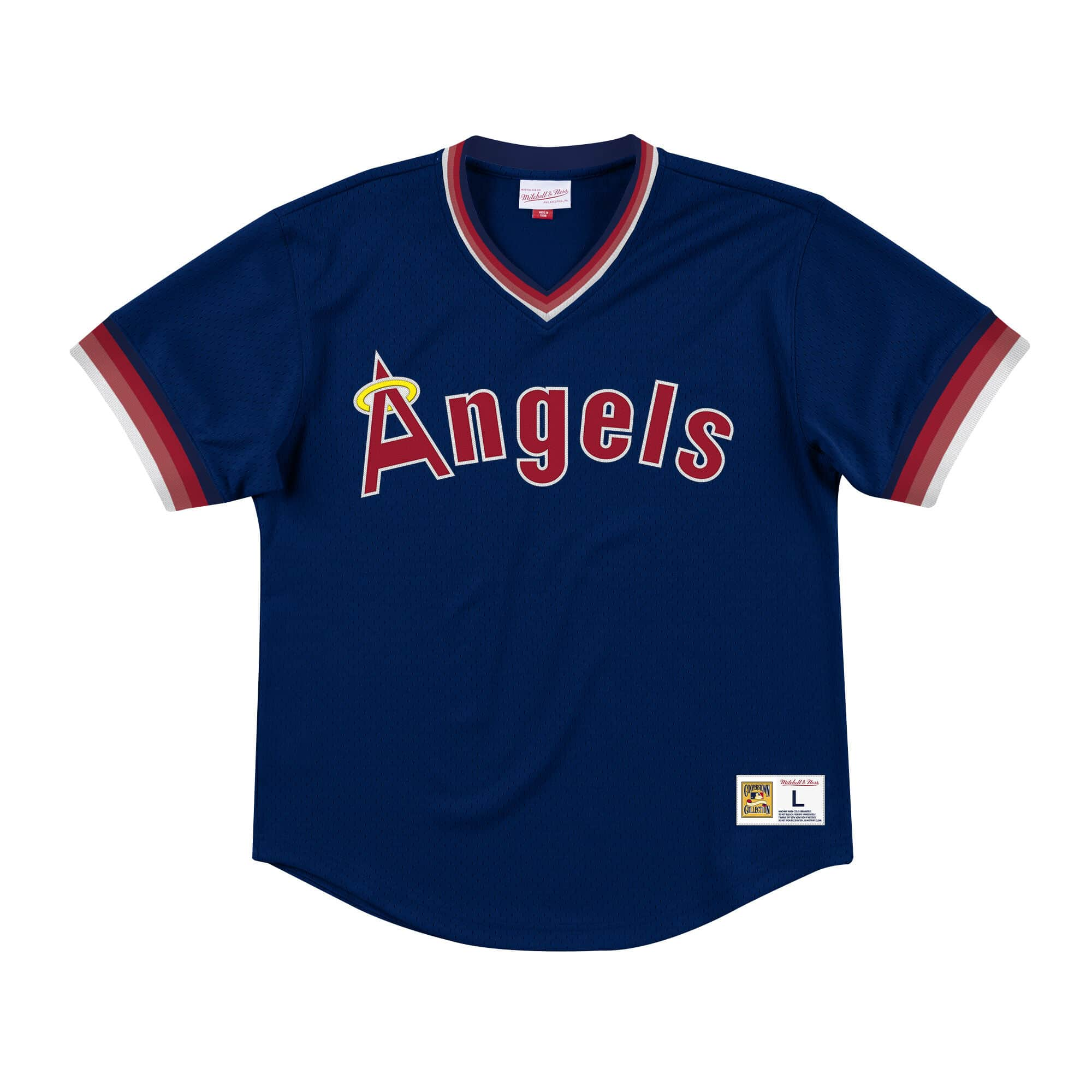 Mesh V-Neck California Angels