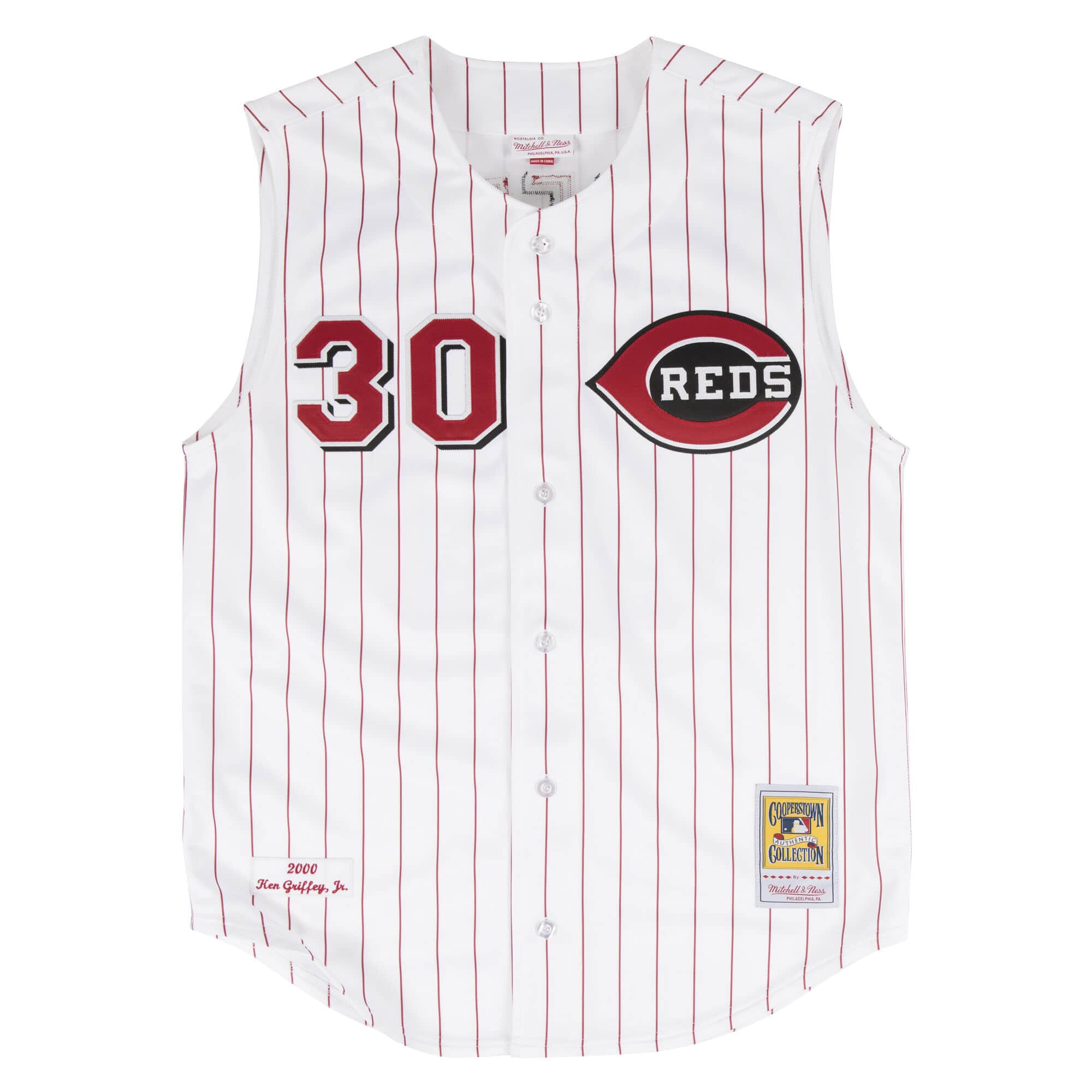 Ken Griffey Jr. 2000 Authentic Jersey Cincinnati Reds