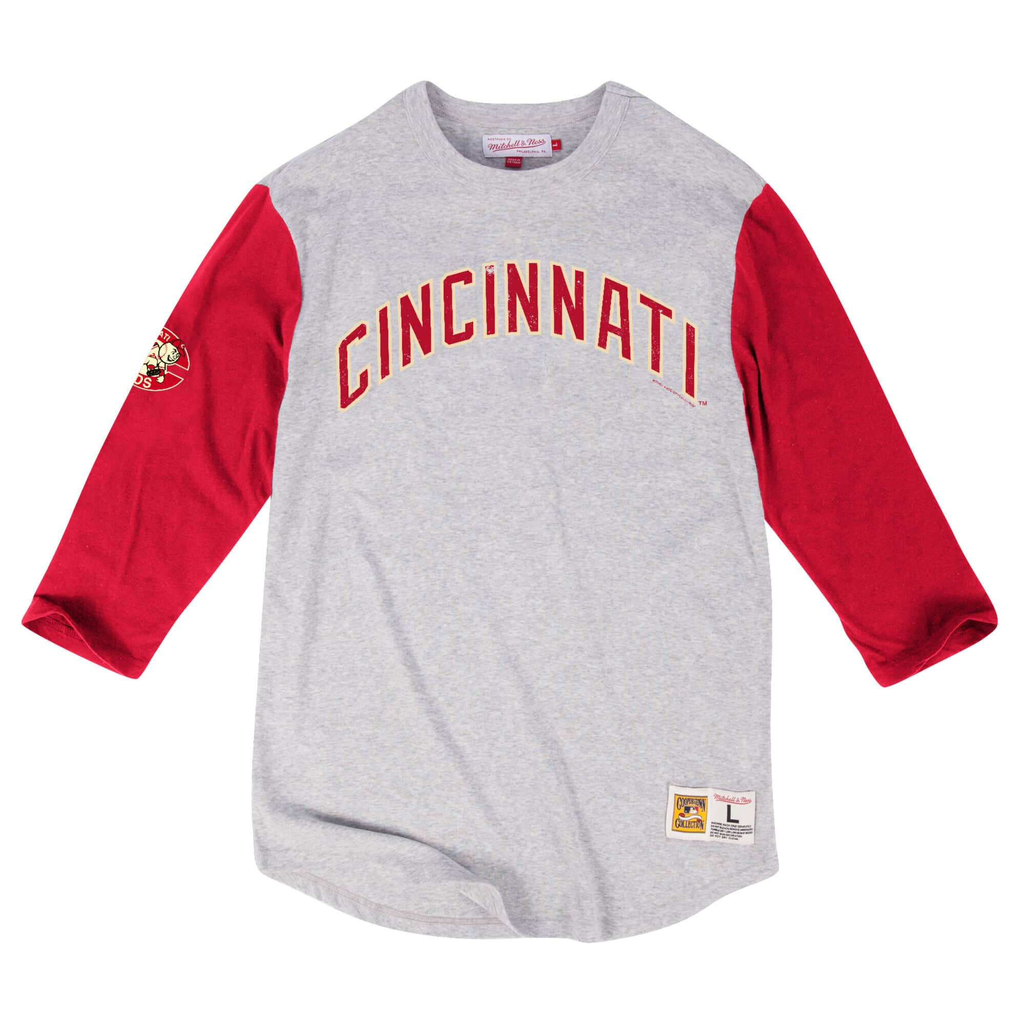 Scoring Position 3/4 Sleeve Cincinnati Reds