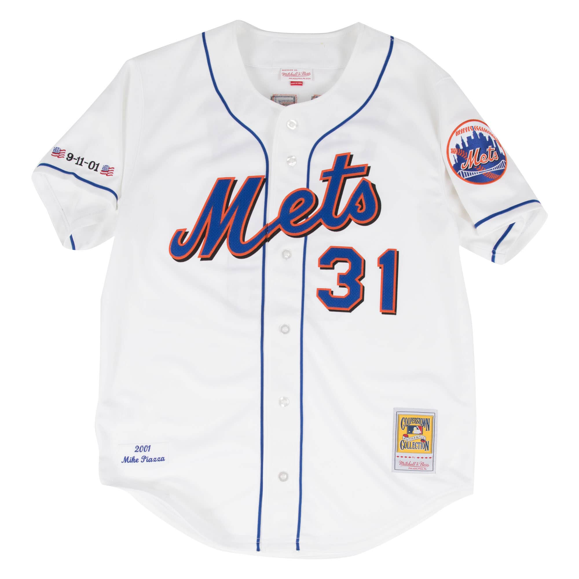 Mike Piazza Authentic Jersey 2001 New York Mets