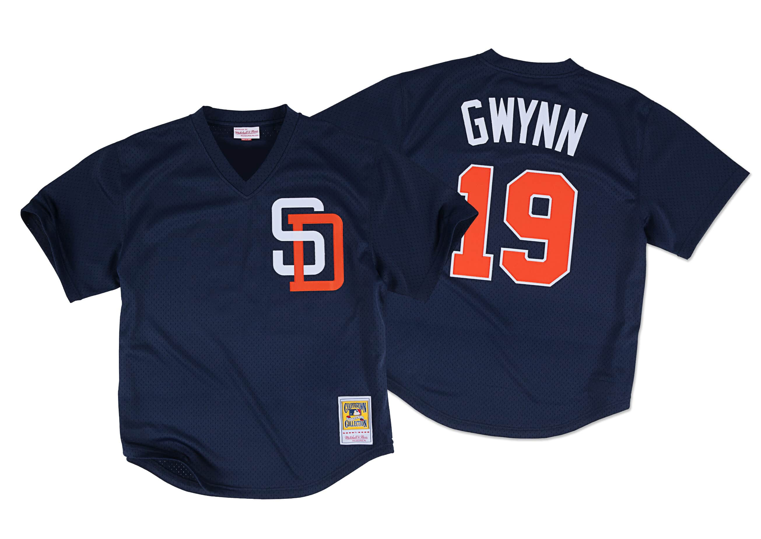 Tony Gwynn 1996 Authentic Mesh BP Jersey San Diego Padres
