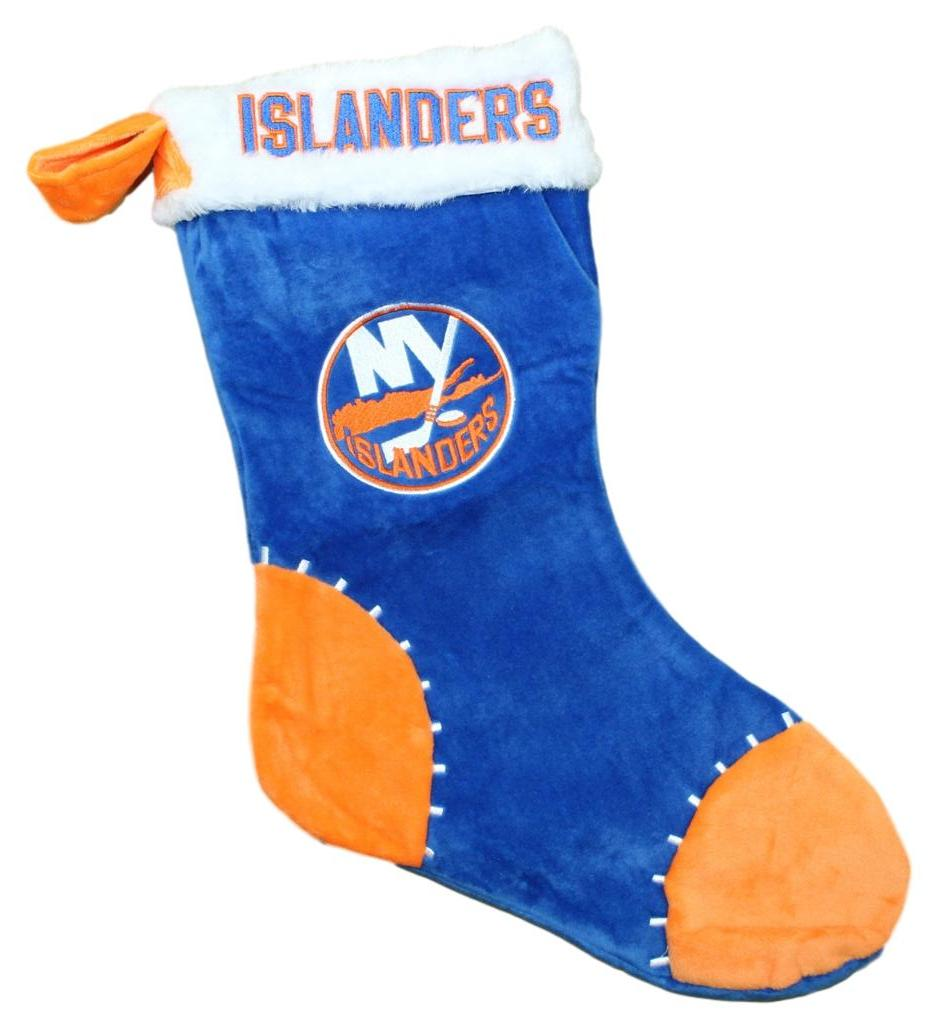 New York Islanders 2017 NHL Basic Logo Plush Christmas Stocking