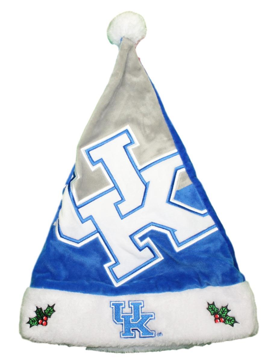Kentucky Wildcats 2018 NCAA Basic Logo Plush Christmas Santa Hat