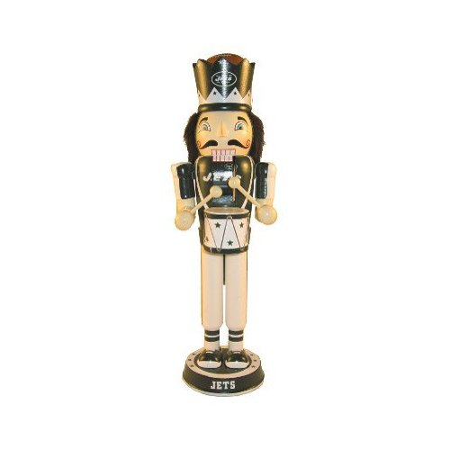 "New York Jets 2012 14"" Drummer Nutcracker"