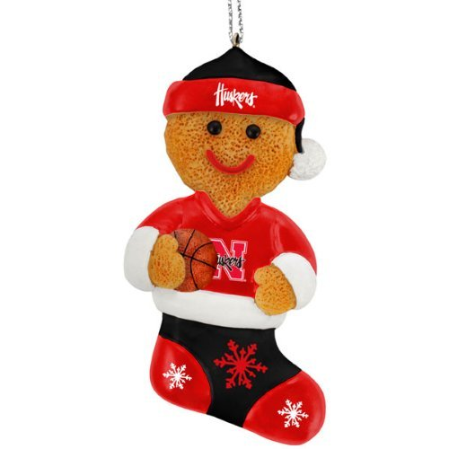 Nebraska Cornhuskers 2012 Gingerbread Man Ornament