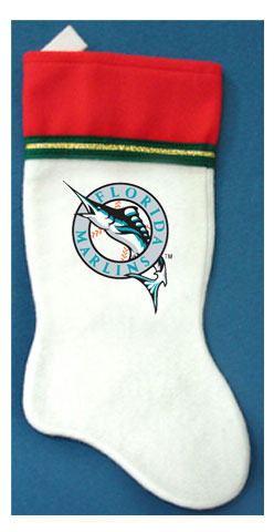 Florida Marlins MLB Christmas Stocking