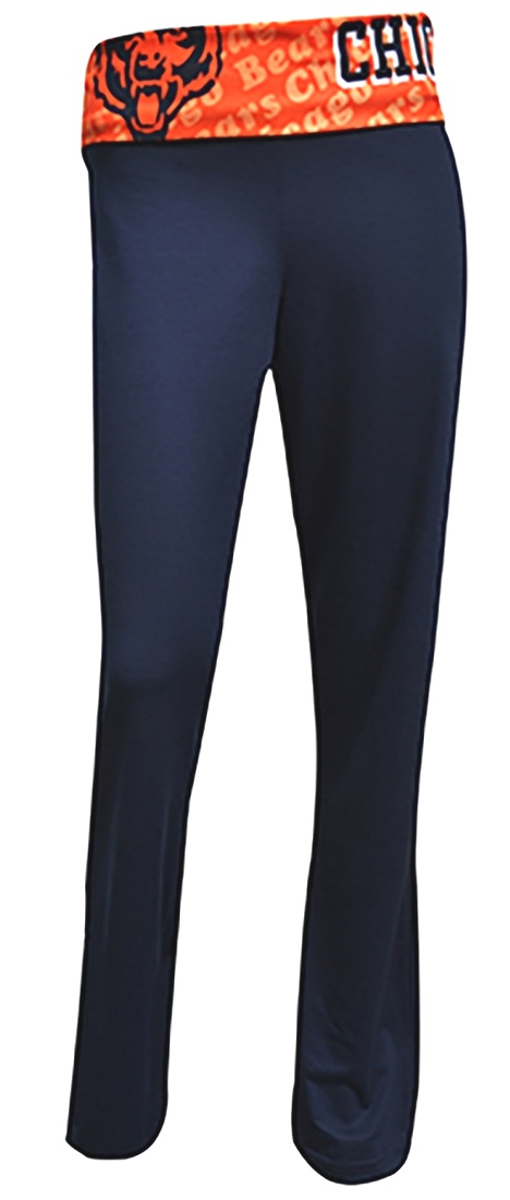 "Chicago Bears Women's NFL ""Cameo"" Spandex Knit Pants"