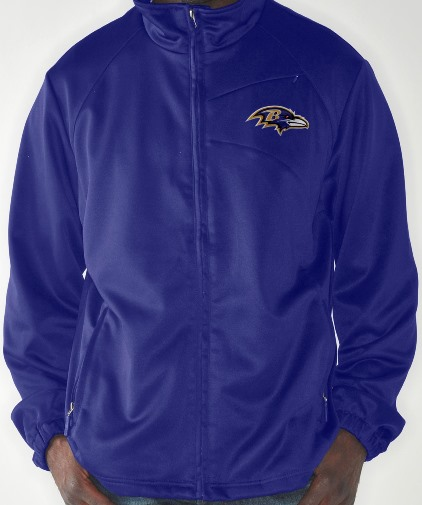 "Baltimore Ravens NFL ""Shutout"" Full Zip Premium Performance Jacket"