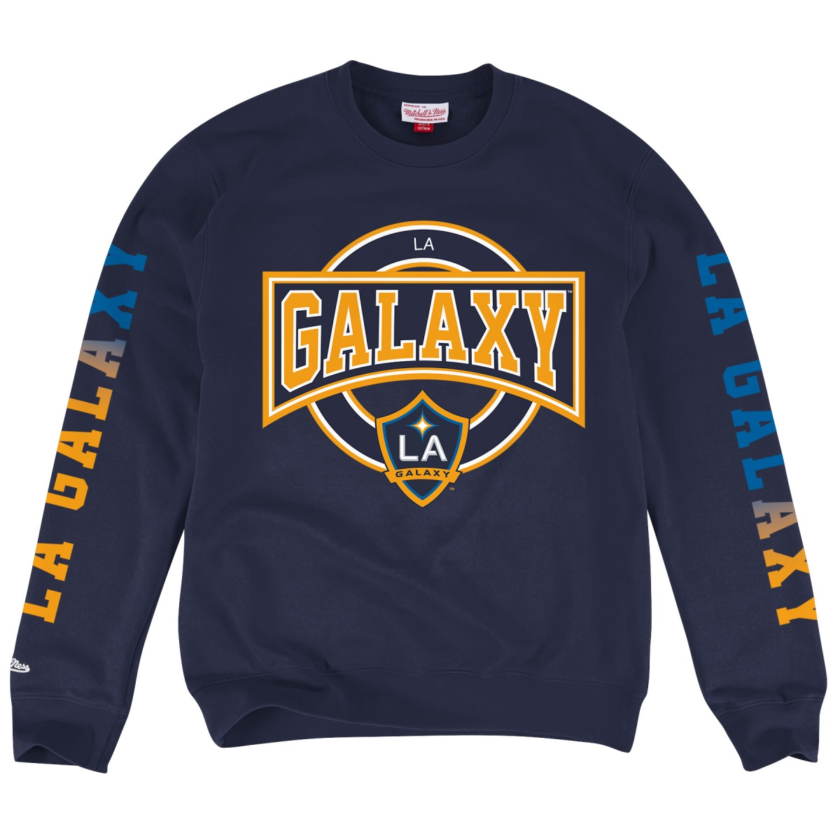 Los Angeles Galaxy Mitchell & Ness MLS Crew Sweatshirt