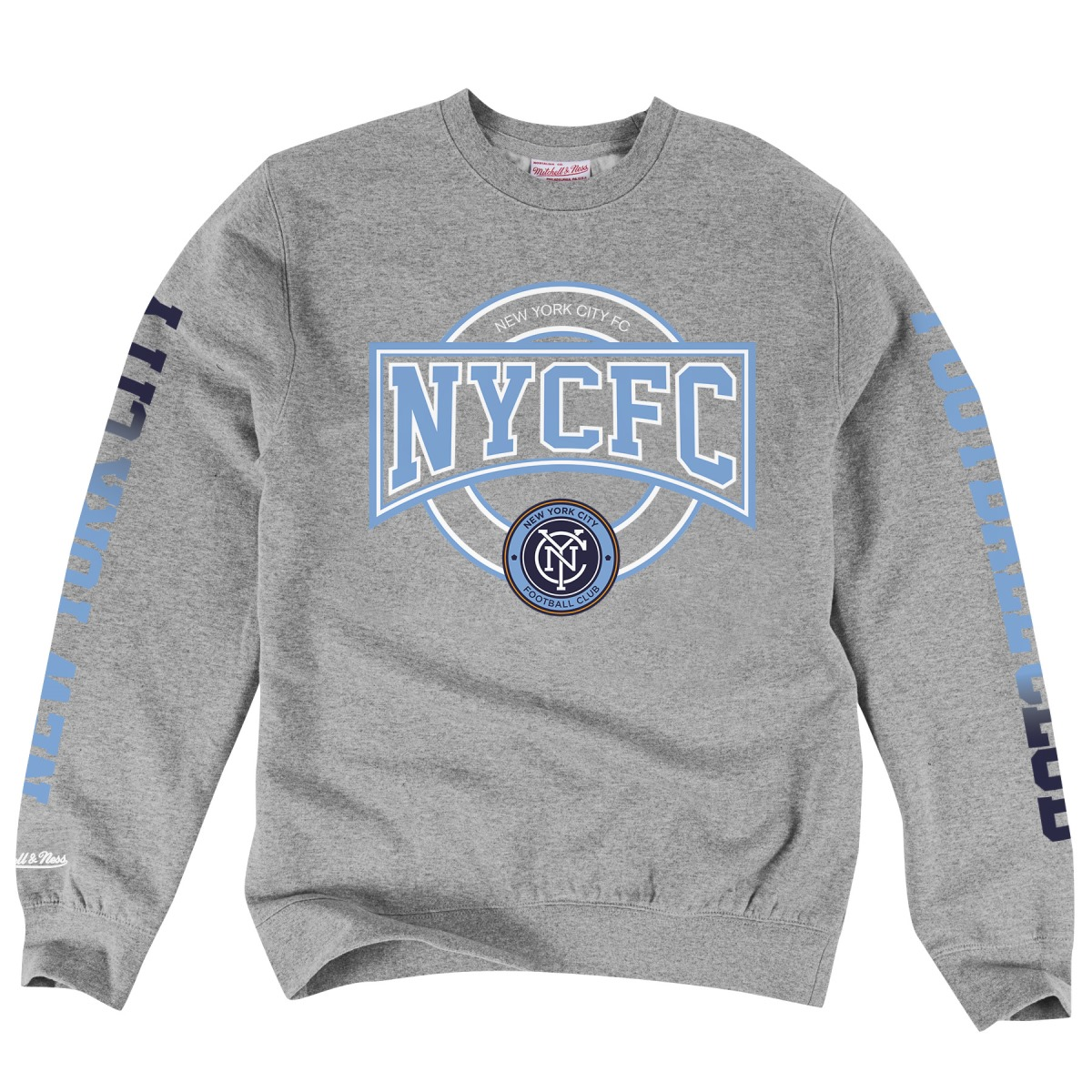 New York City FC Mitchell & Ness MLS Crew Sweatshirt