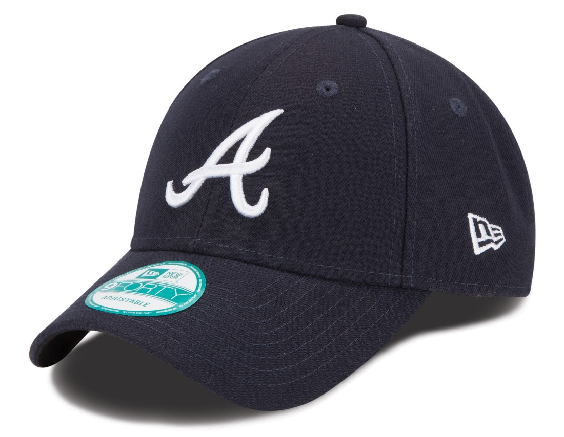 "Atlanta Braves New Era MLB 9Forty ""The League"" Adjustable Hat - Road"