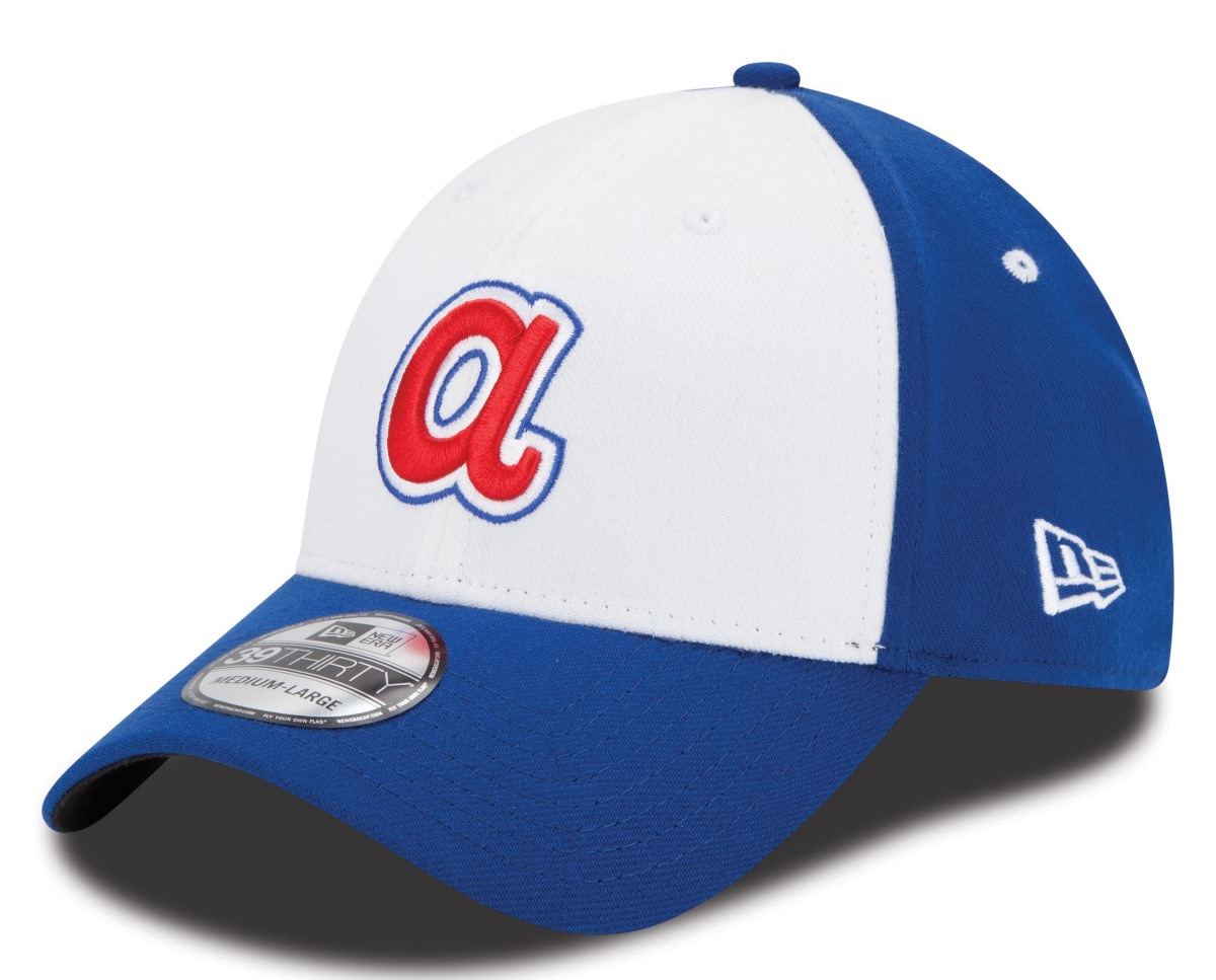 Atlanta Braves New Era MLB 39THIRTY Cooperstown Team Classic Flex Fit Hat