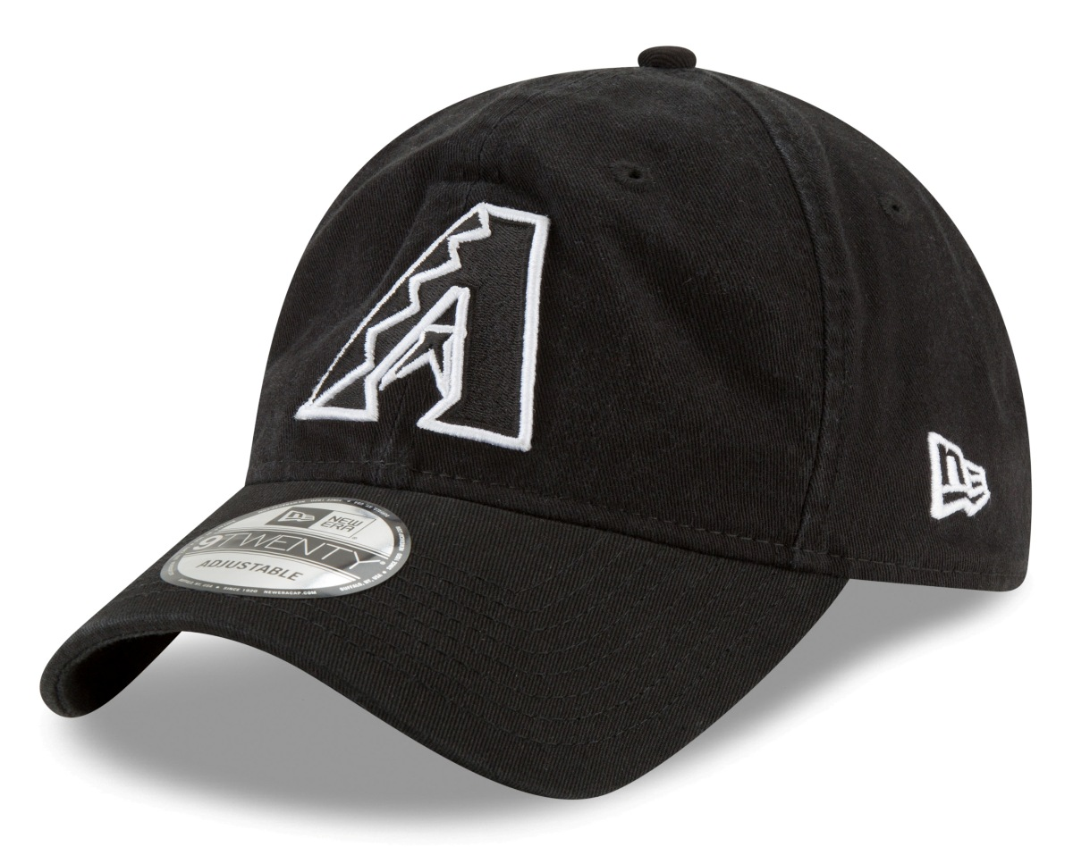 Arizona Diamondbacks New Era MLB 9Twenty Core Classic Twill Adjustable Black Hat