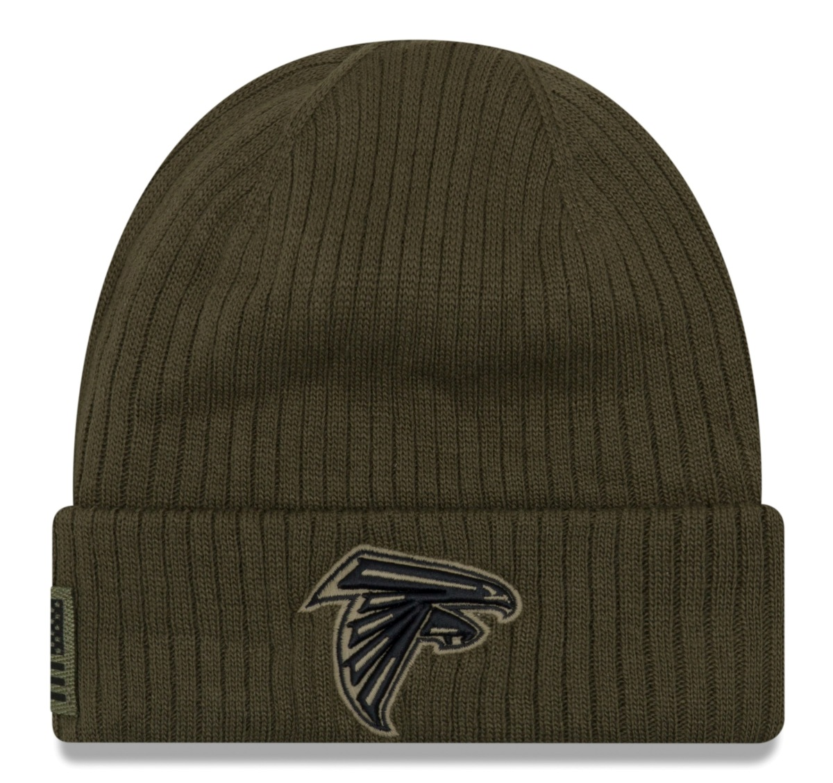 "Atlanta Falcons New Era 2018 NFL Sideline ""Salute to Service"" Knit Hat"