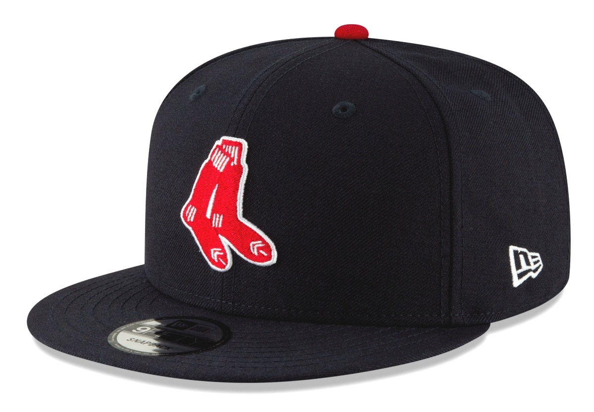 "Boston Red Sox New Era 9FIFTY MLB Cooperstown ""Logo Pack"" Snapback Hat"