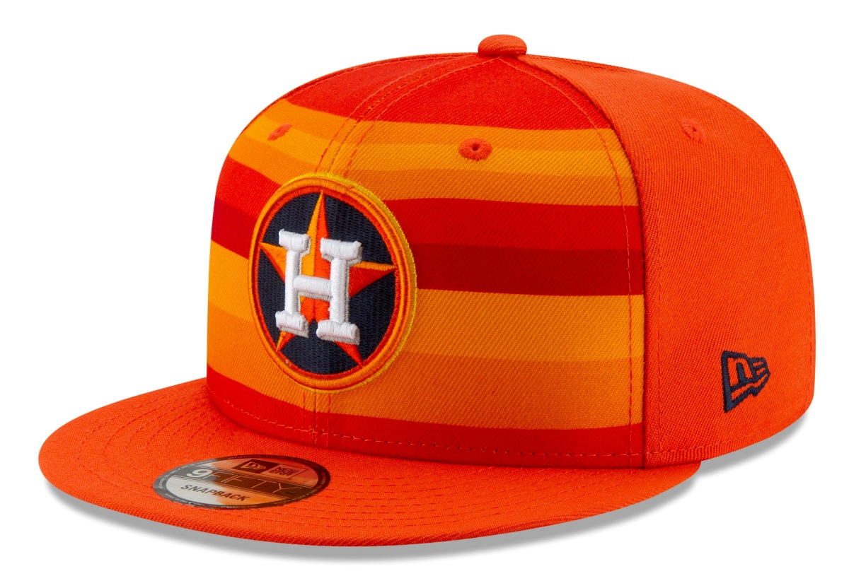 "Houston Astros New Era 9FIFTY MLB ""Logo Pack Alternate"" Snapback Hat"