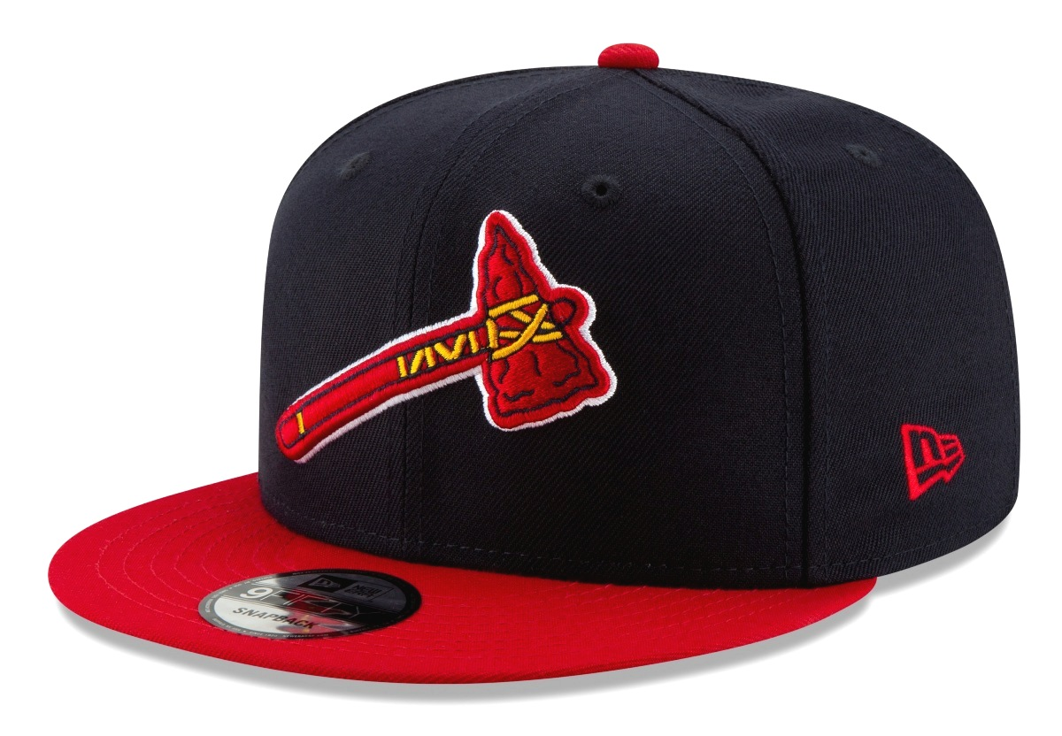 "Atlanta Braves New Era 9FIFTY MLB ""Logo Pack Alternate"" Snapback Hat"