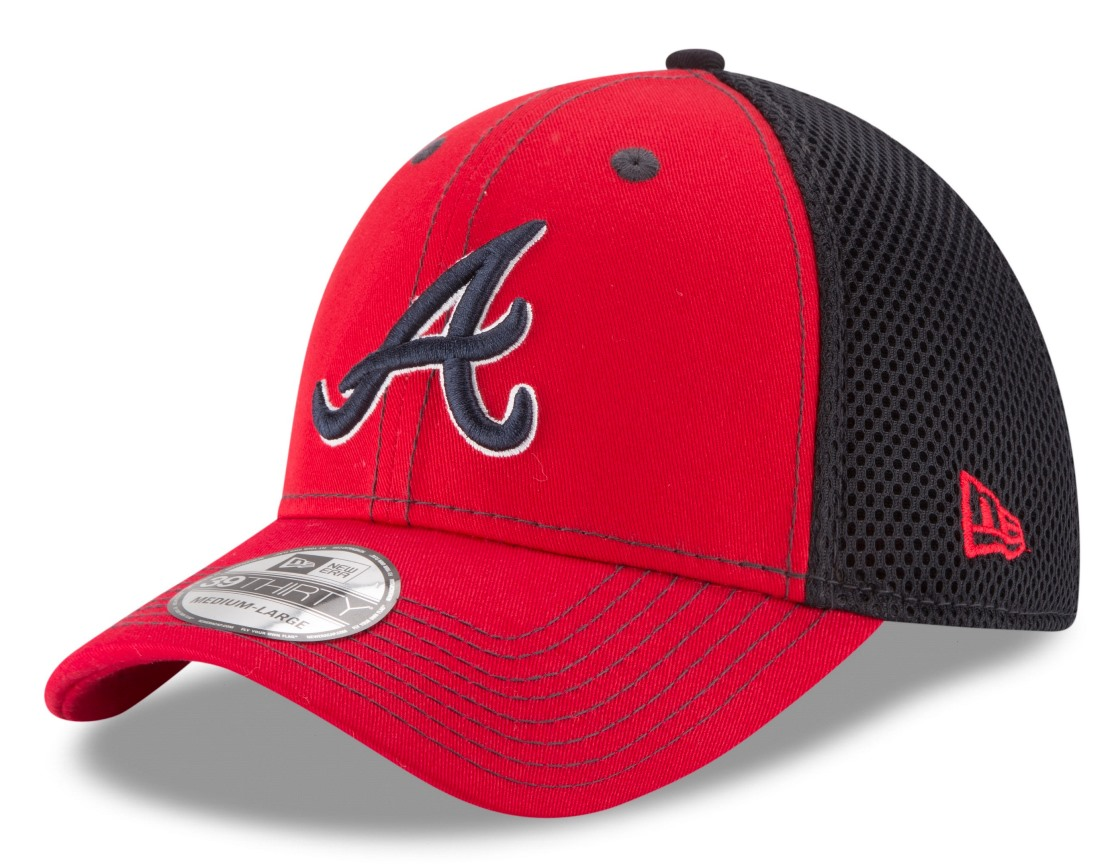 Atlanta Braves New Era MLB 39THIRTY Team Front Neo Flex Fit Hat