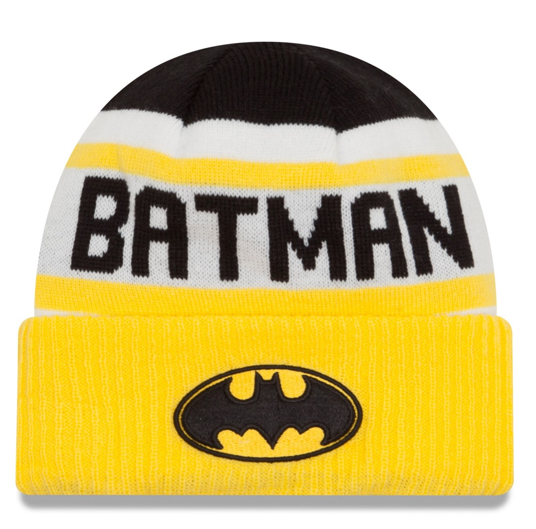 "Batman New Era ""Biggest Fan 2.0"" Cuffed Knit Hat"