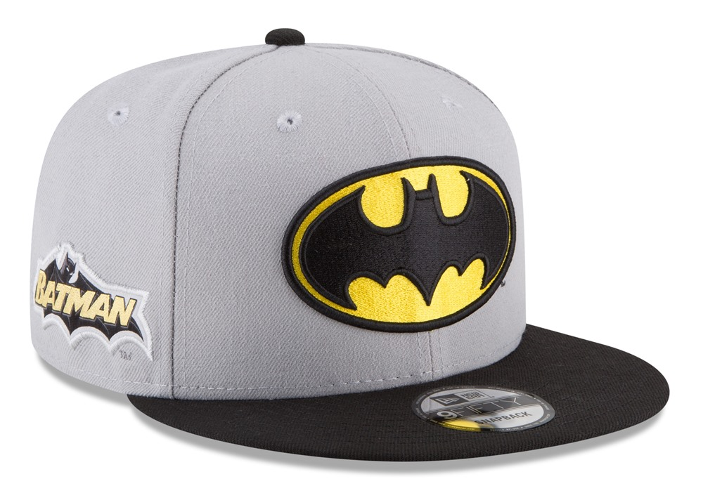 "Batman DC Comics New Era 9FIFTY ""Team Patcher"" Adjustable Snap Back Hat"