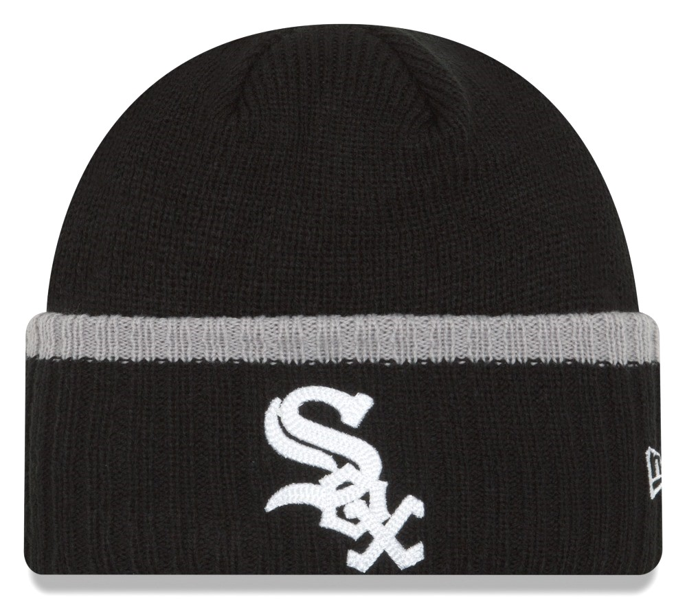 "Chicago White Sox New Era MLB ""Ribbed Up Team"" Cuffed Knit Hat"
