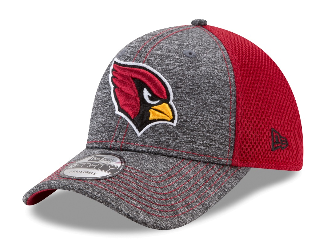 "Arizona Cardinals New Era 9Forty NFL ""Shadow Turn"" Adjustable Hat"