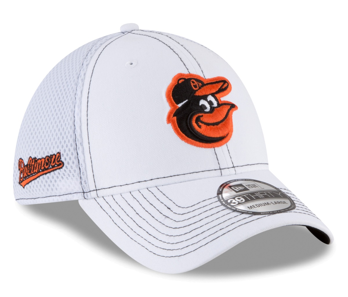 "Baltimore Orioles New Era MLB 39THIRTY ""Team Turn Neo"" Flex Fit Hat"