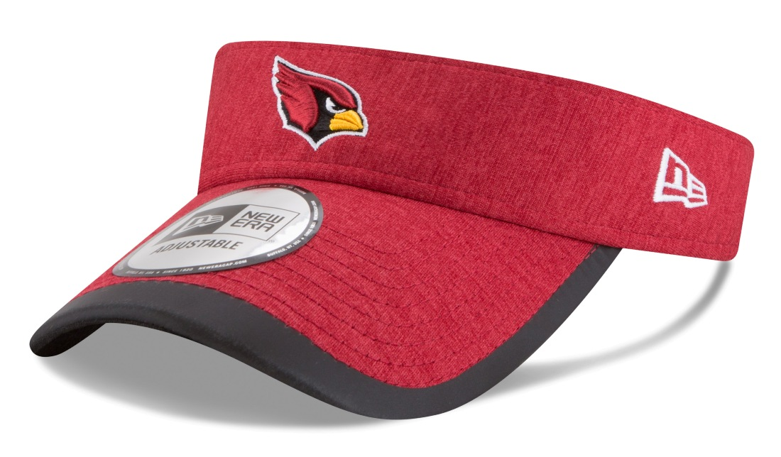 "Arizona Cardinals New Era NFL ""Shaded Edge"" Performance Heathered Visor"
