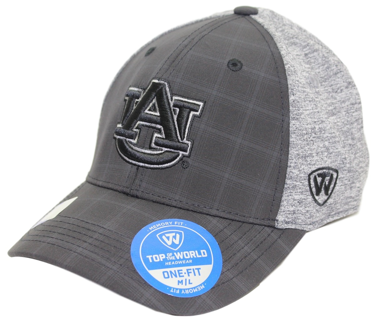 "Auburn Tigers NCAA Top of the World ""Seasons"" Memory Fit Hat"
