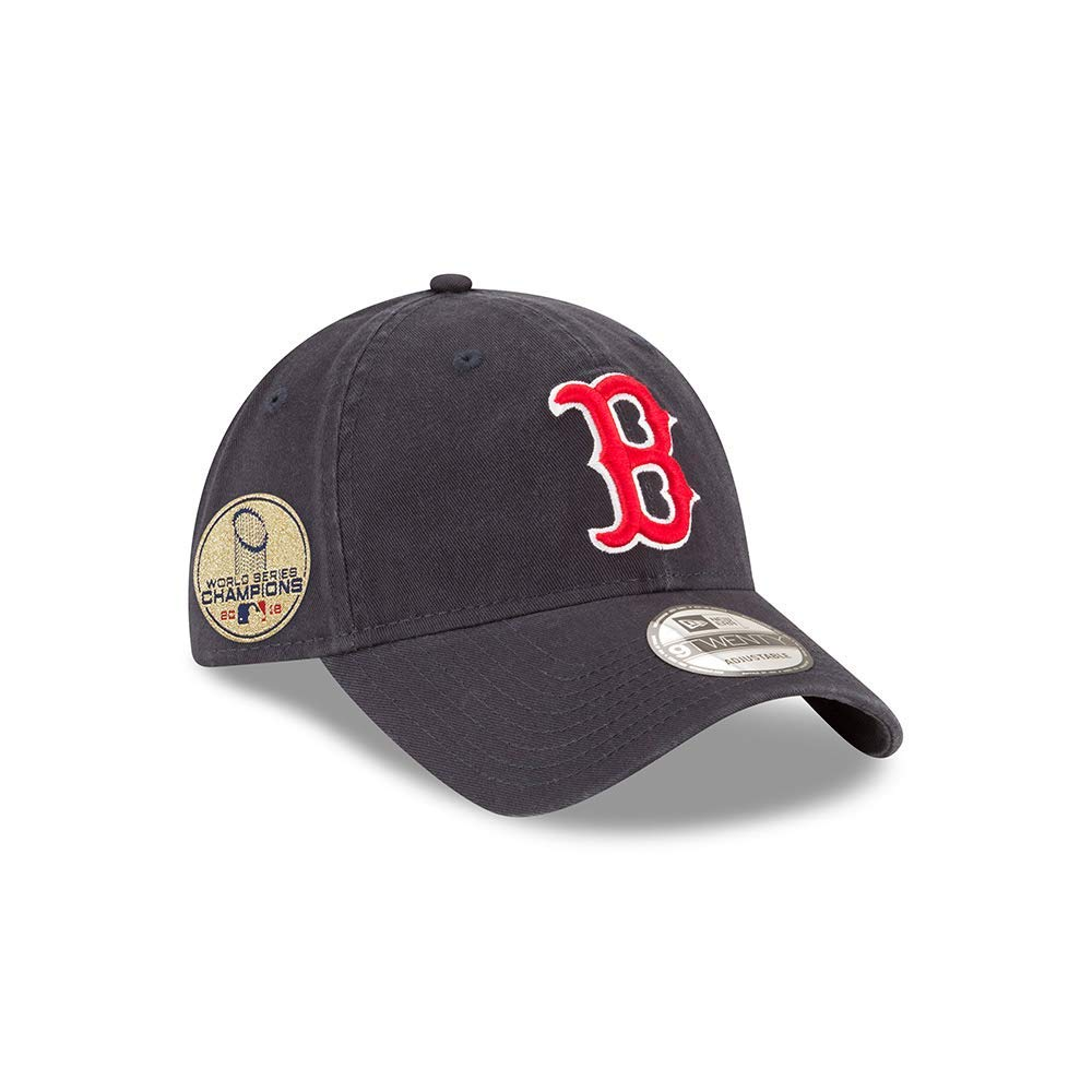 Boston Red Sox New Era MLB 9Twenty 2018 World Series Champions Side Patch Hat