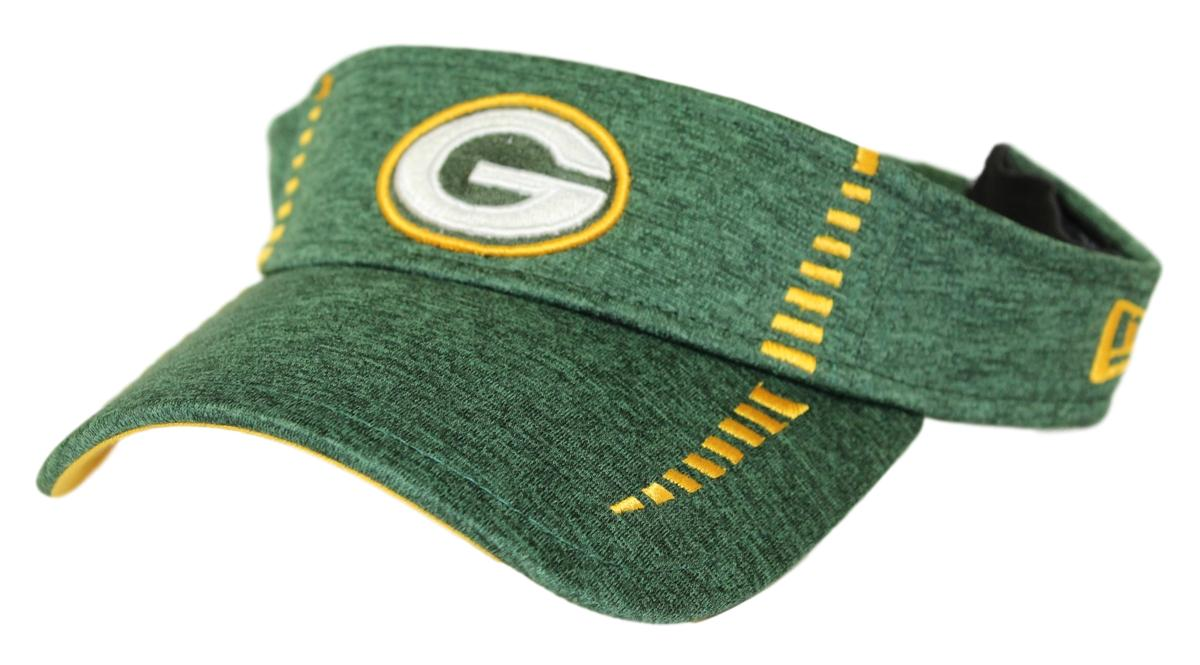 "Green Bay Packers New Era NFL ""Shadow Speed"" Performance Adjustable Visor"