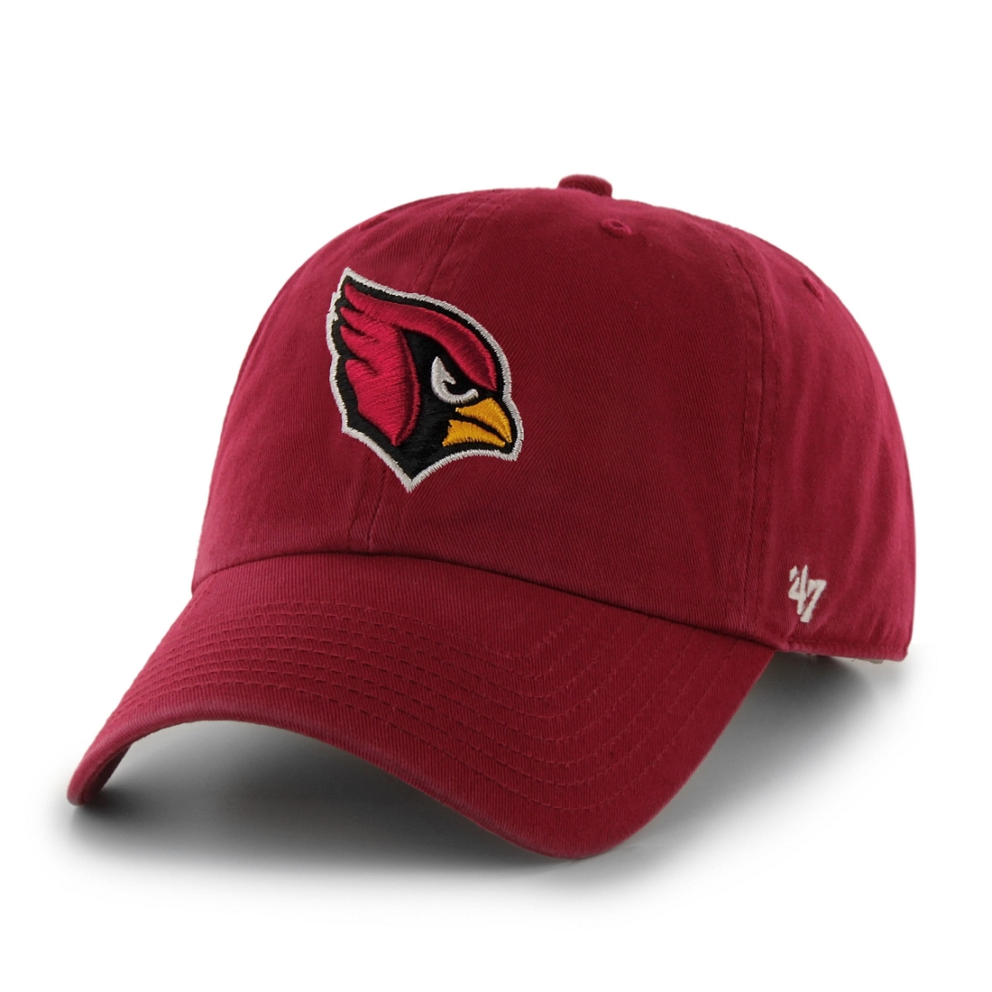 Arizona Cardinals 47 Brand NFL Clean Up Adjustable Hat