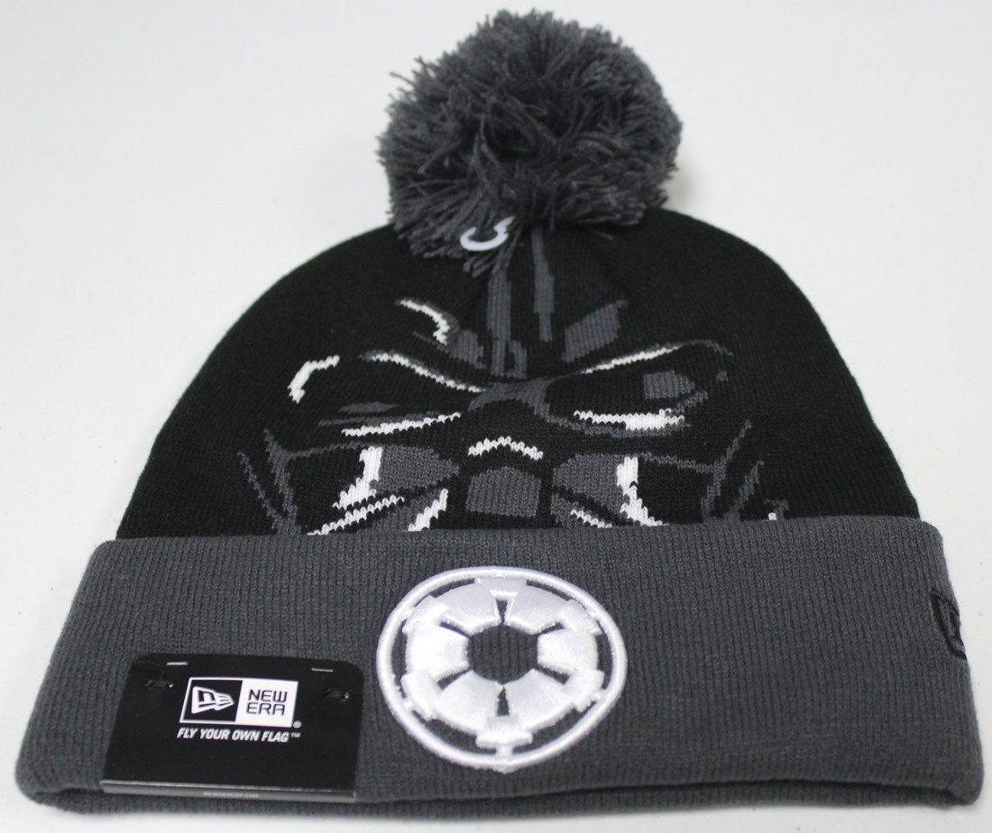 "Darth Vader Star Wars New Era ""Galactic Biggie"" Cuffed Knit Hat"