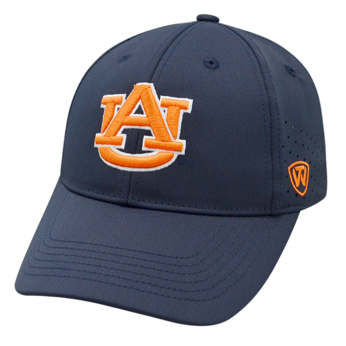 "Auburn Tigers NCAA Top of the World ""Jock 2"" Memory Fit Flex Hat"