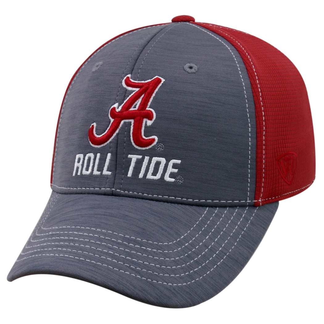 "Alabama Crimson Tide NCAA Top of the World ""Upright"" Structured Mesh Hat"