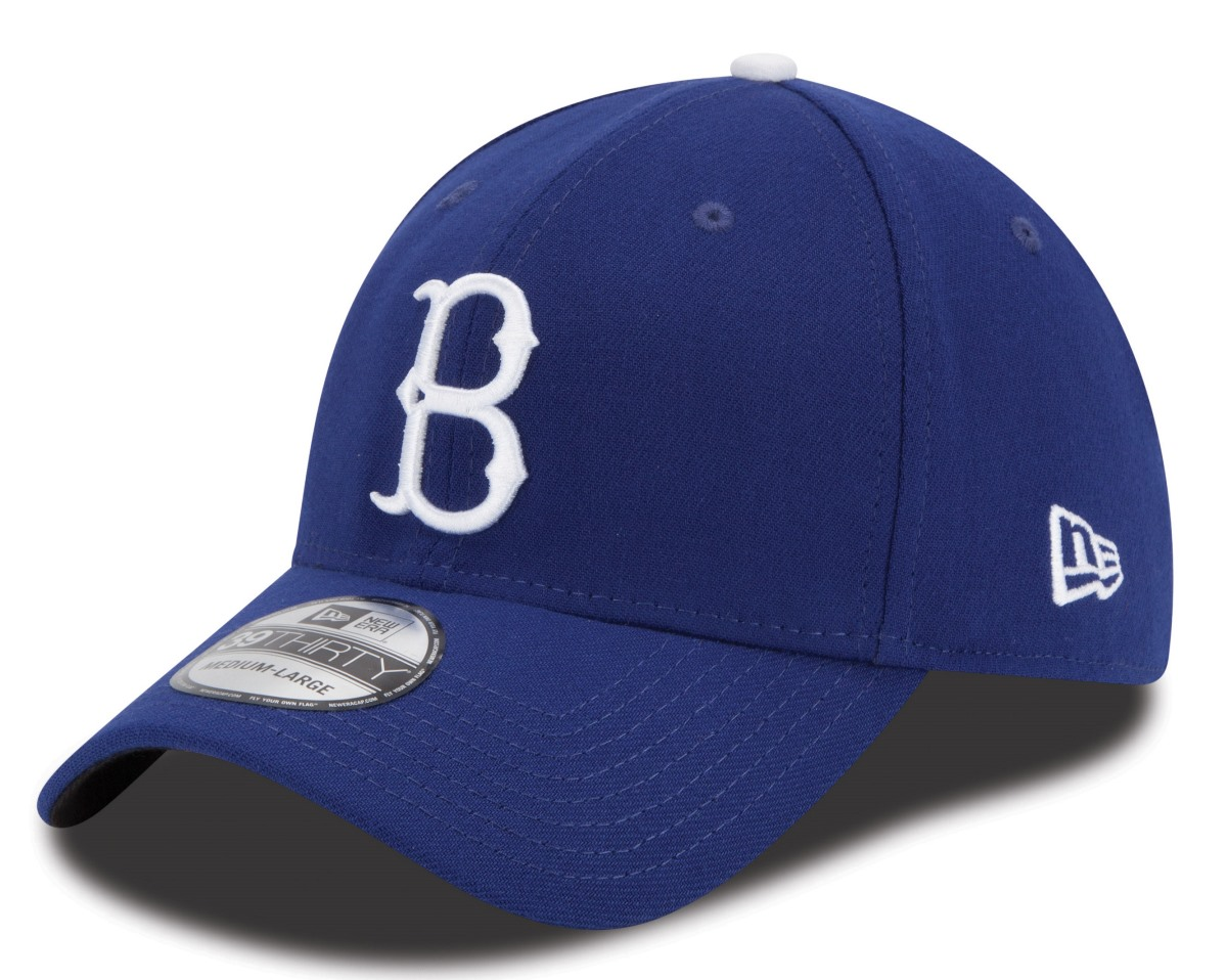 Brooklyn Dodgers New Era MLB 39THIRTY Cooperstown Team Classic Flex Fit Hat